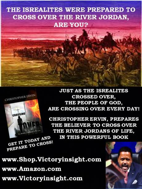 ARE YOU READY TO CROSS OVER THE RIVER JORDANS OF LIFE?